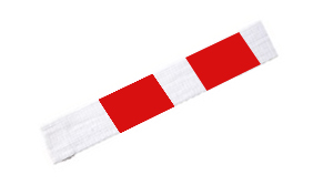 ceinture-rouge-blanche